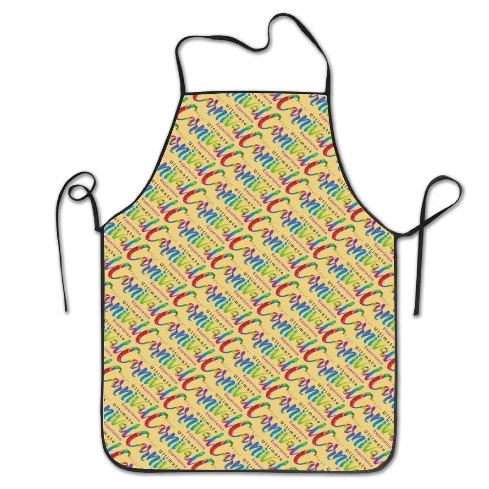 Carnival Mardi Grasエプロンの女性/メンズBaconテールゲートWaitress裁縫Funnyシェフエプロン   B07DCPH5DN