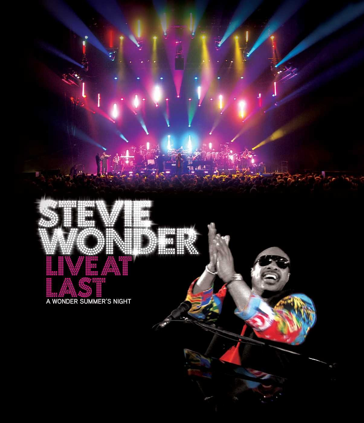 Stevie Wonder: Live at Last [Blu-ray] by Motown