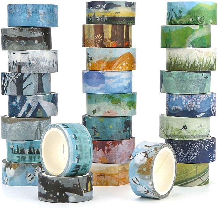 Top 9 Decorative Nature Tape