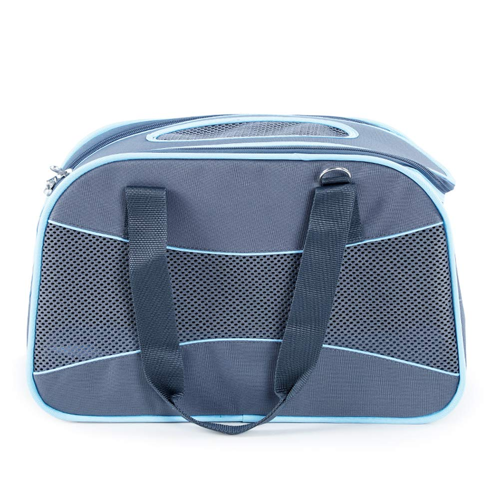 Collapsible Pet Travel Carrier Soft Sided Portable Breathable Shoulder Bag Cat Dog Handbag For Small Animals,Foldable For Storage. Cacoffay