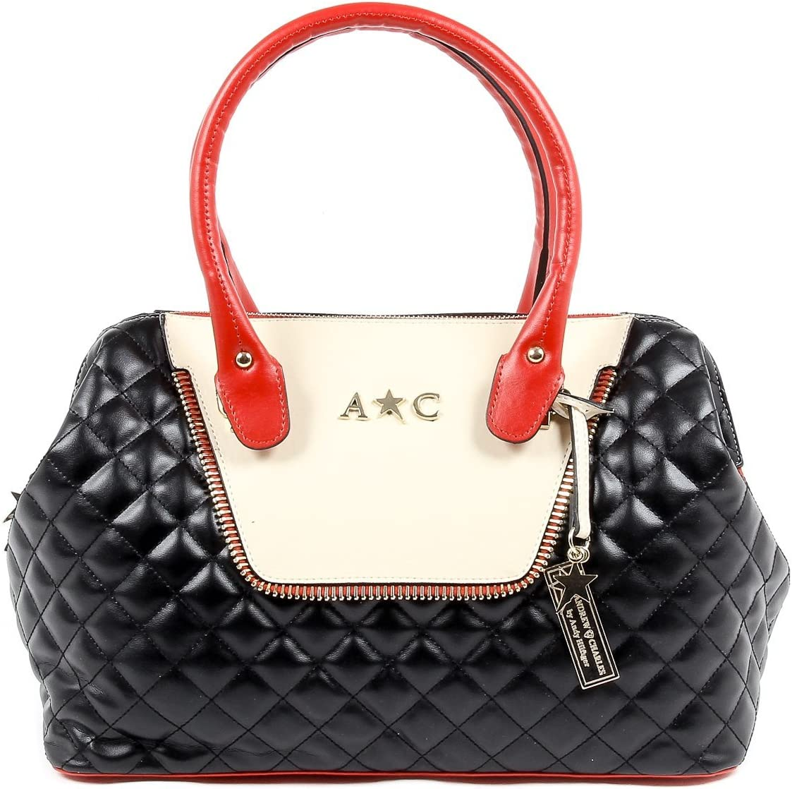 Amazon Com Black One Size Andrew Charles Womens Handbag Black