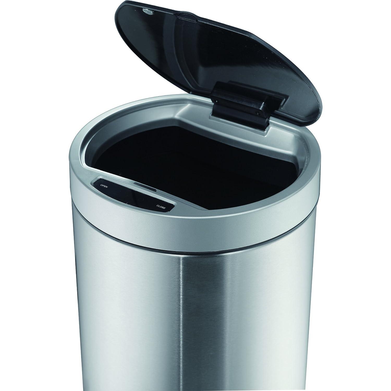 Amazon.com: EKO 92850-1 9 L Docomo Sensor Bin Stainless Steel Trash ...