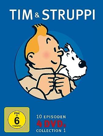 Tim & Struppi Collection 1 [Alemania] [DVD]: Amazon.es: Stéphane Bernasconi, Amélie Aubert, Colin OMeara, Eric Rondeaux, David Fox, Alex Boon, Martin Brossollet: Cine y Series TV