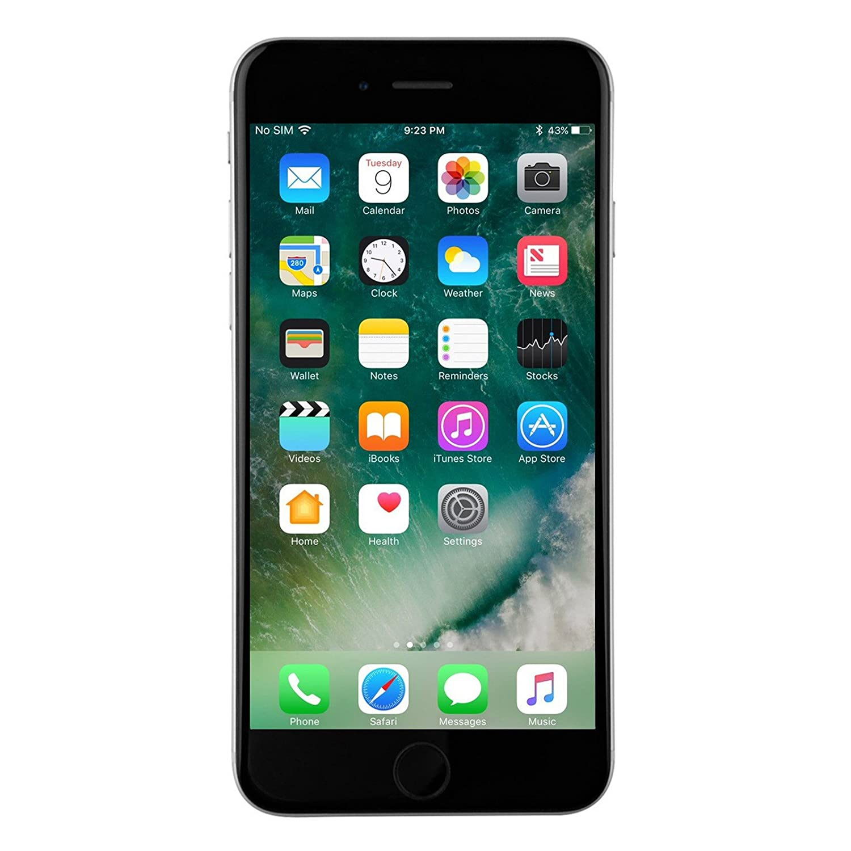 aaac507b733 Amazon.com: Apple iPhone 6s Plus, GSM Unlocked, 128GB - Gray (Renewed):  Cell Phones & Accessories