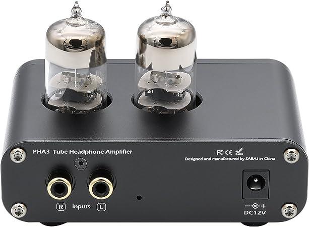 Sabaj PHA3 Amplificador para auriculares de tubo de vacío 2X6J9 ...