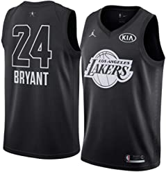 NWT Mens Los Angeles Lakers Kobe Bryant Jordan Brand Black Swingman Jersey ...