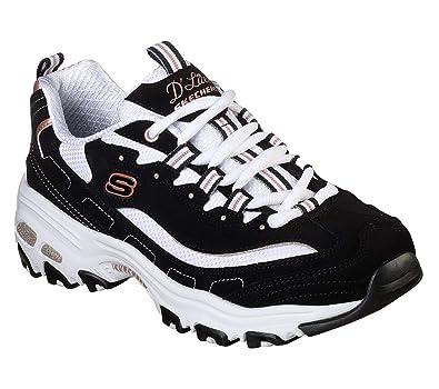 Skechers D'Lites Devoted Fan Womens Sneakers: