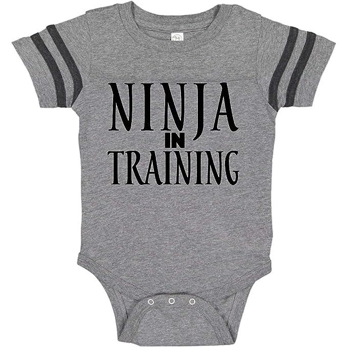 Amazon.com: inktastic Ninja in Training Infant Creeper: Clothing
