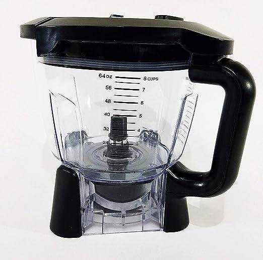 Nutri Ninja Blender 64oz Food Processor Bowl - Duo & Auto IQ BL 640, BL641, BL642 , BL680 and BL682 Only