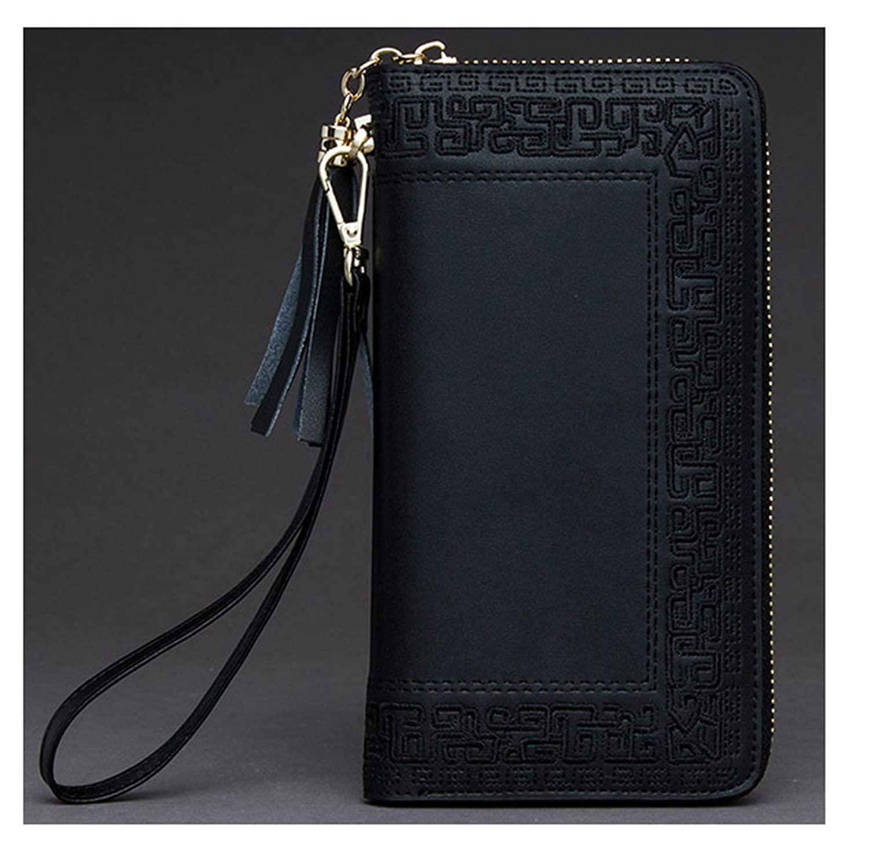 Keshi Leather Fashion Women's Purse Organizer Long Wallet Clutch Card Holder Money Clip