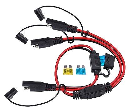 Amazon.com: CUZEC - Adaptador de cargador de 2 vías ...