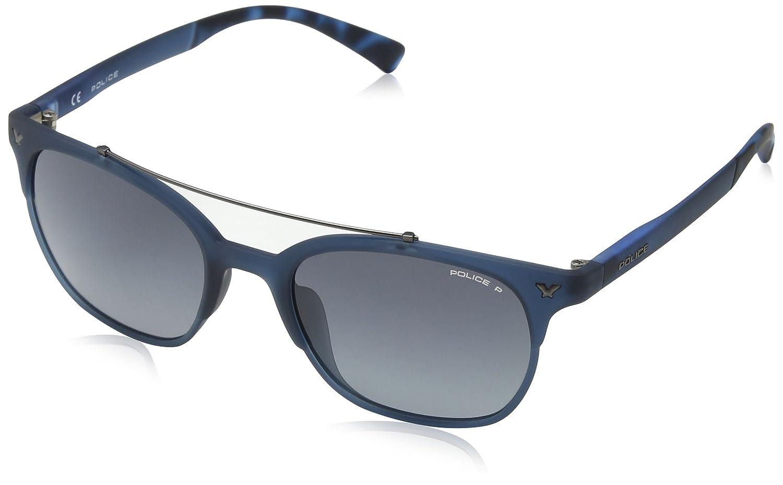 Police Sunglasses Boys' Game 14, Full Blue Rebberized, 41 SK046