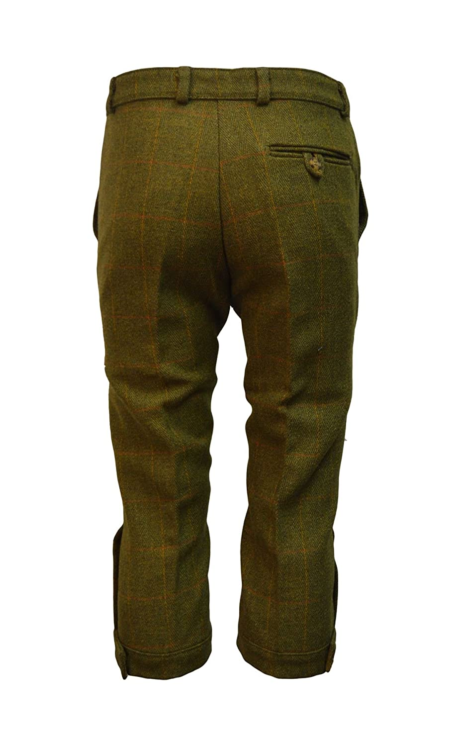 e8ea500b5707b Walker & Hawkes - Mens Derby Tweed Shooting Plus Fours Long Breeks Trousers  - Dark Sage - 32-42 at Amazon Men's Clothing store: