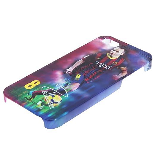 Amazon.com: Barcelona Unisex Iphone 5forwardslash5s Iniesta ...