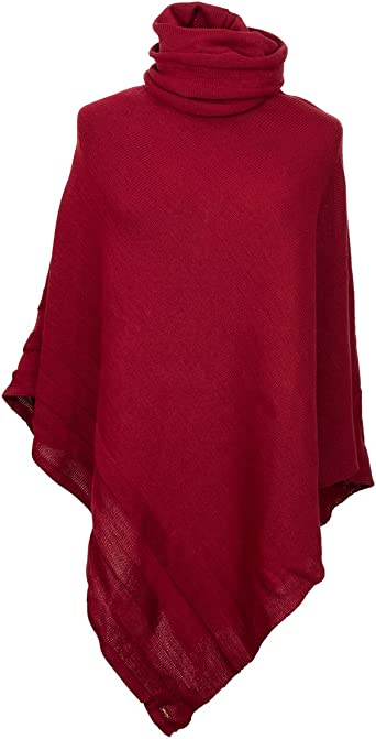 Hand  knitted poncho; shoulder warmer; shaded colours cape; universal size poncho