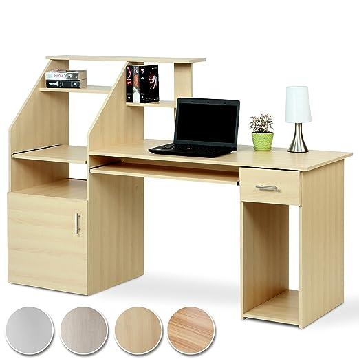 MIADOMODO - Mesa de Escritorio para Ordenador: Amazon.es: Hogar