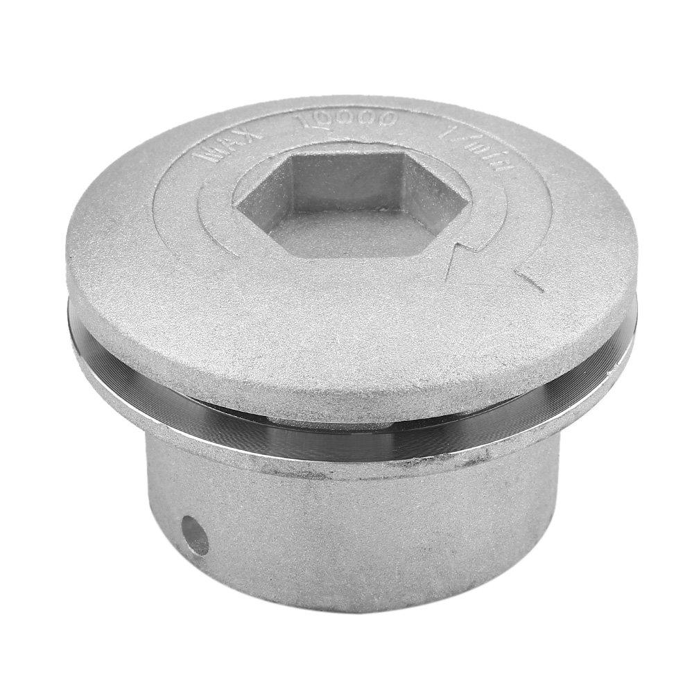 Haofy Cabezal Desbrozador Universal de Aluminio Accesorio para Cortadora de Césped para Jardín Cortacésped