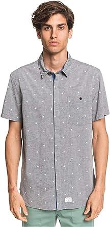 Quiksilver Club De Mer - Camisa de Manga Corta para Hombre EQYWT03999: Amazon.es: Ropa y accesorios