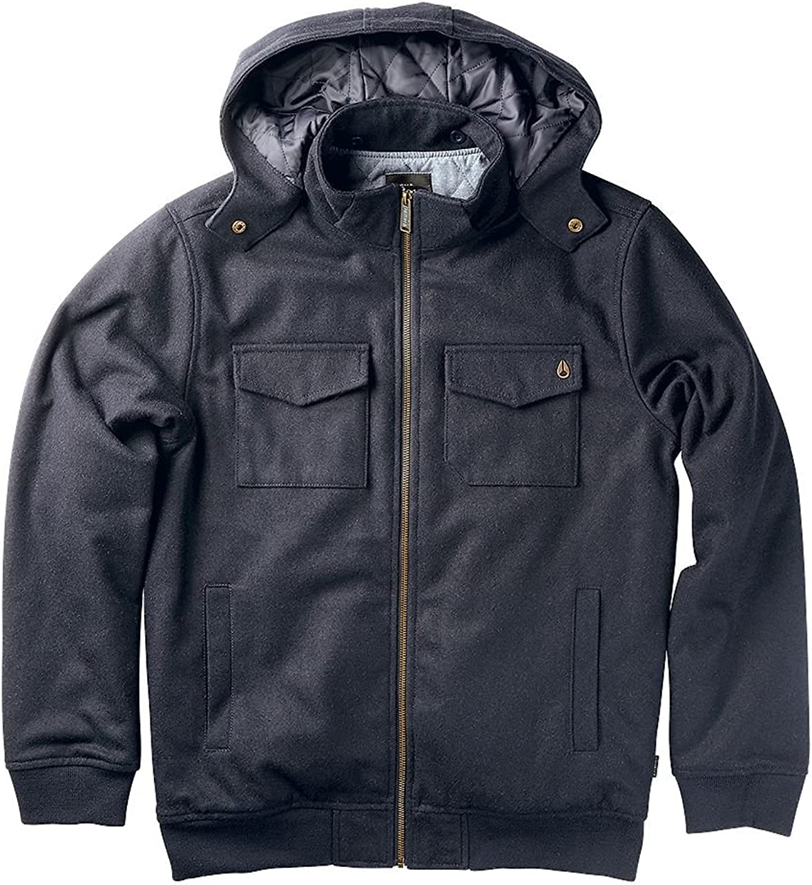 NIXON Admiral Quilted Jacket Navy X-Large