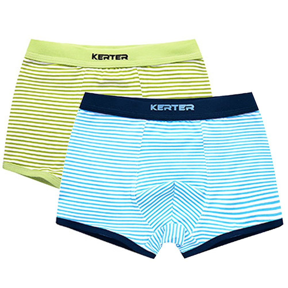 ARAUS Enfants Garçons Boxers Lot de 2 Paires Coton et Spandex ImpriméBoxers Enfants sous-vêtement Taille 3-14ans