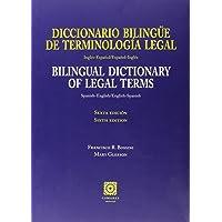 Diccionario bilingüe de terminologia legal Inglés-Español/Español-Inglés (6ª ed. (Bibl. Comares Ciencia Juridica)