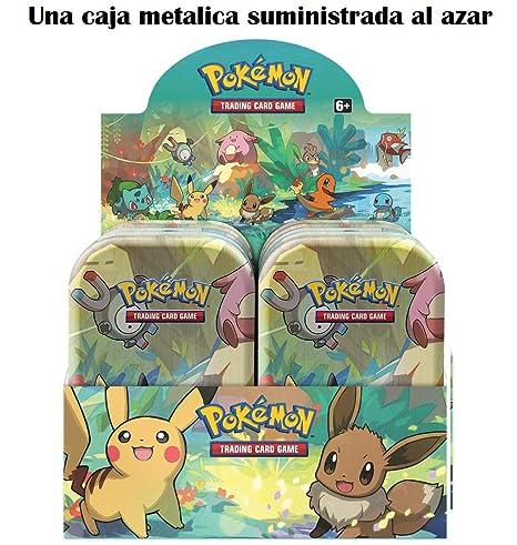 Pokemon JCC- Minilata Amigos de Kanto - Español (Una Suministrada al Azar) (The Pokemon Company POMT1901)