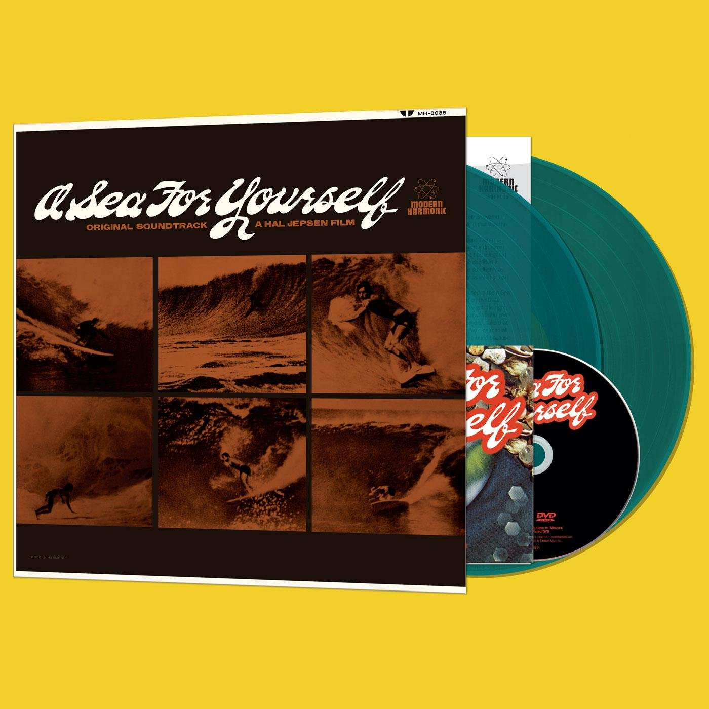 Vinilo : Various Artists - Sea For Yourself (With DVD, Colored Vinyl, Blue, Gatefold LP Jacket, 2PC)