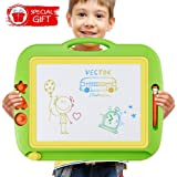 U-Home Doodle board Large Magnetic Drawing Boards 43 x 37cm Erasable Scribble Magic Writer Non-toxic Fancy Colorful Sketch Learning Toys Great Educational Gift for Kids Children Toddlers
