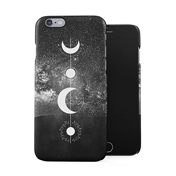 sports shoes 3d763 65998 Constellation Starlight Galaxy Geometric Moon Phases Plastic Phone Snap On  Back Case Cover Shell for iPhone 6 Plus & iPhone 6s Plus