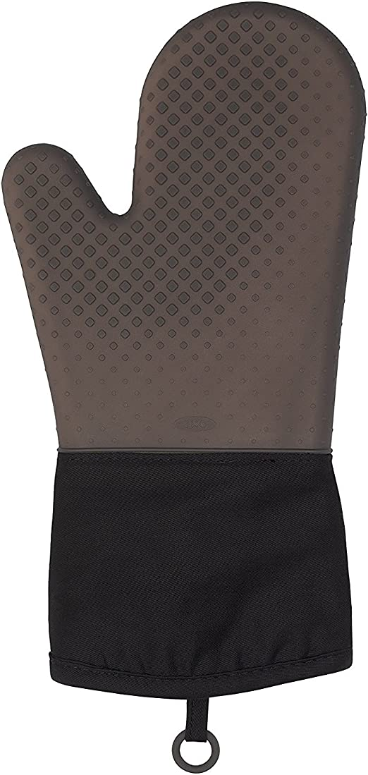 Amazon.com: OXO Good Grips Silicone Oven Mitt - Black: Kitchen ...