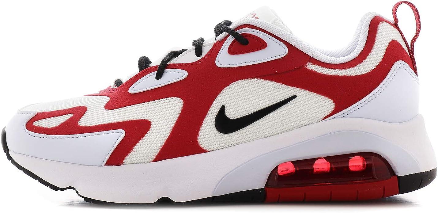 Nike Basket, Farbe Blanc, Marke, Modell Basket AIR Max 200