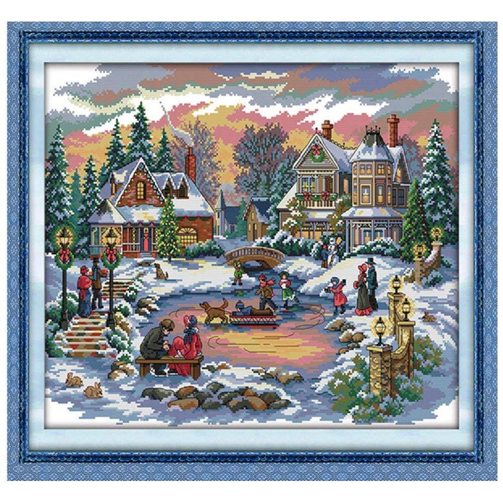 Cleana Arts Cross Stitch kits, Treasure Time, 11CT Counted, 28×21(70cm×54cm) CS037
