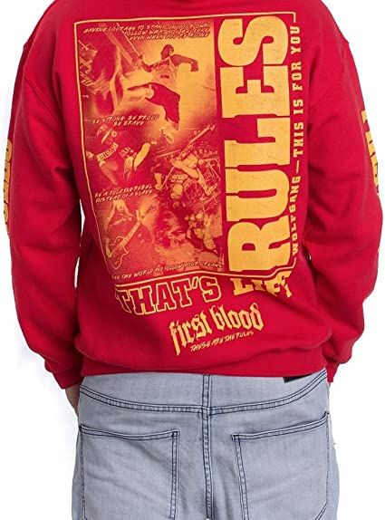 first blood college jacke