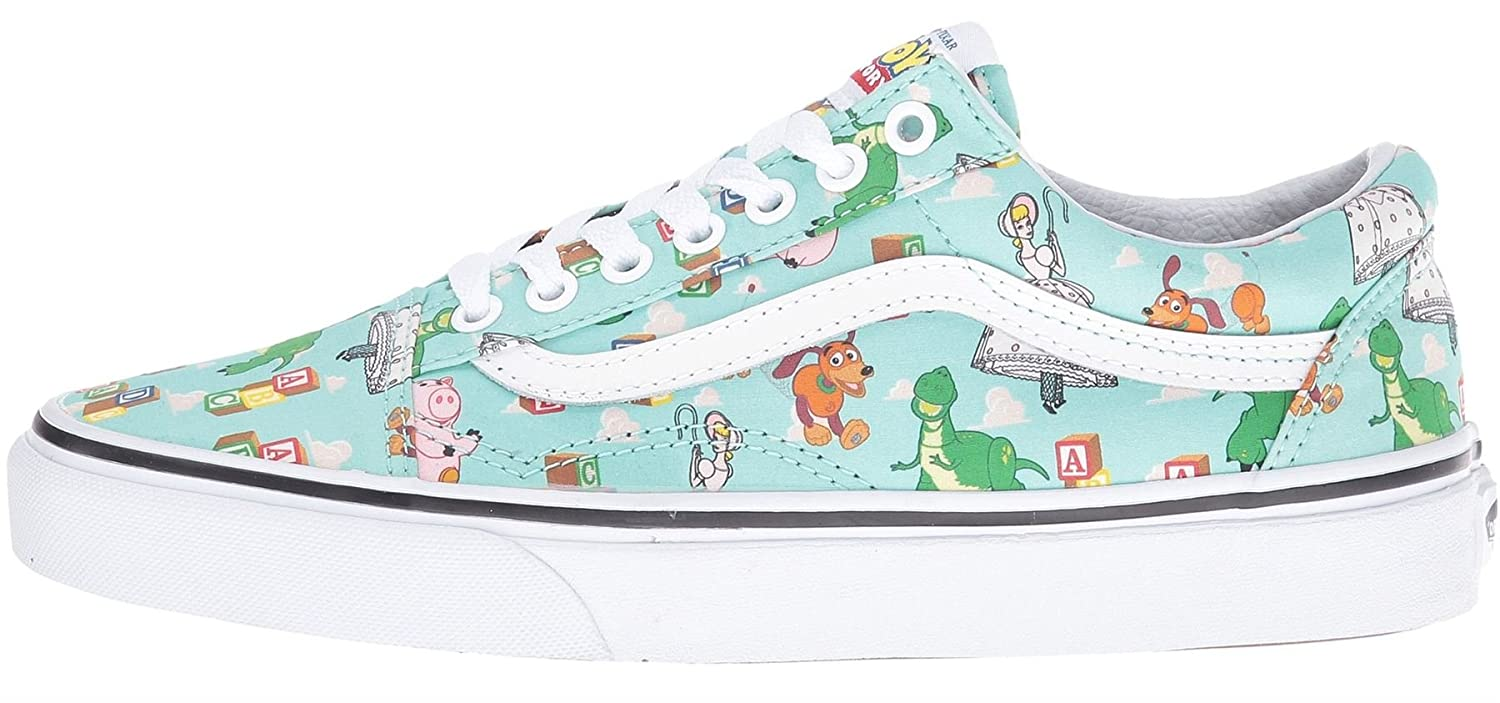 62a7fa4e3c Vans Old Skool Toy Story Andy s Toys Womens Trainers-7  Amazon.co.uk  Shoes    Bags