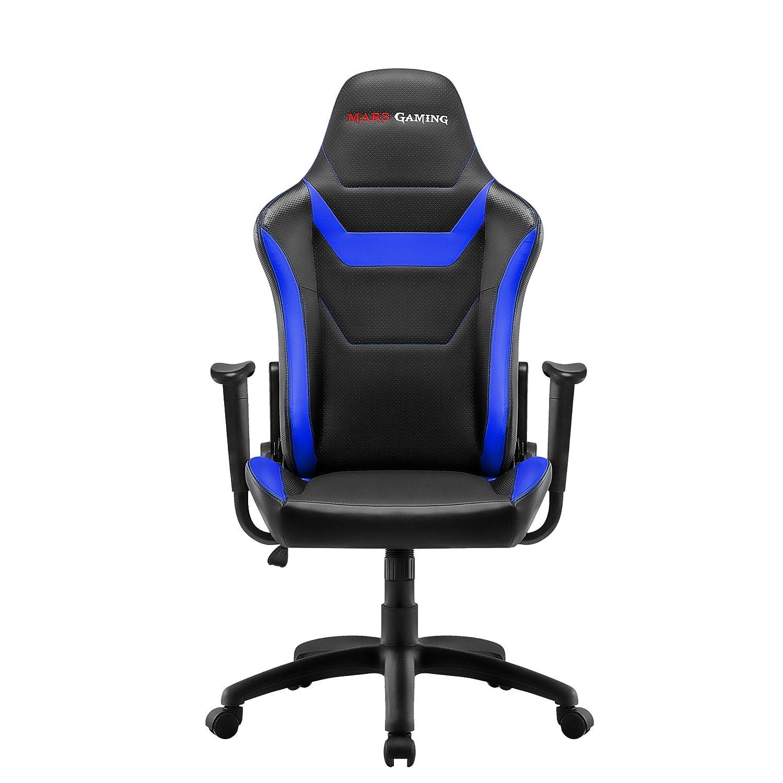 Mars Gaming MGC218 - Silla profesional, tecnología AIR, reclinable 180°, azul: Amazon.es: Hogar