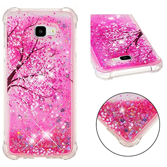 Samsung J4 Plus Case,DAMONDY 3D Pattern Cute Bling Liquid Glitter Hybrid Shockproof Bumper Floating Quicksand Diamond Flowing Soft TPU Case for ...