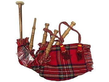 44d608429 Gaita Infantil Royal Stewart junior bagpipe: Amazon.es: Instrumentos  musicales