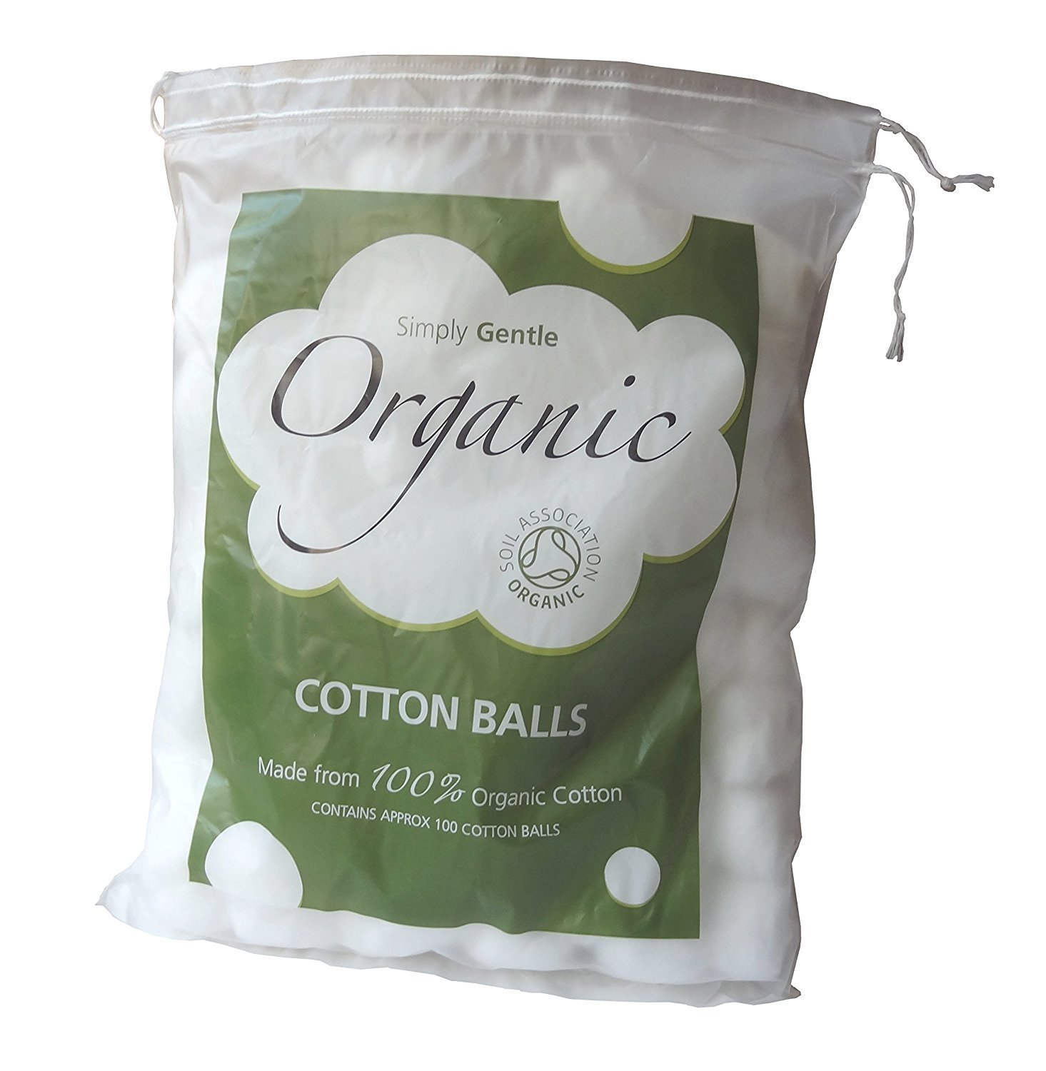 Simply Gentle Organic Cotton - Pack of 100 Balls Macdonald and Taylor 68193
