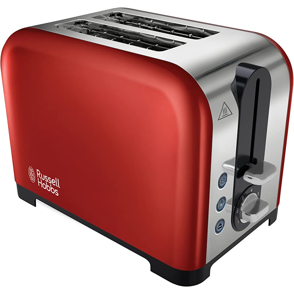 Russell Hobbs 22391 Canterbury 2-Slice Toaster - Red