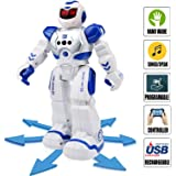 Senroke Remote Control RC Robot Toys, Dancing Robot Kit For Kids , Robotic Toys With Infrared Controller, Programmable