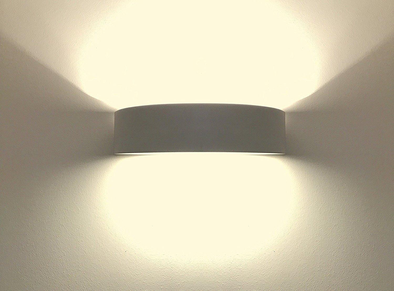 Lighthub e lampade da parete per interni gesso faretto lampada