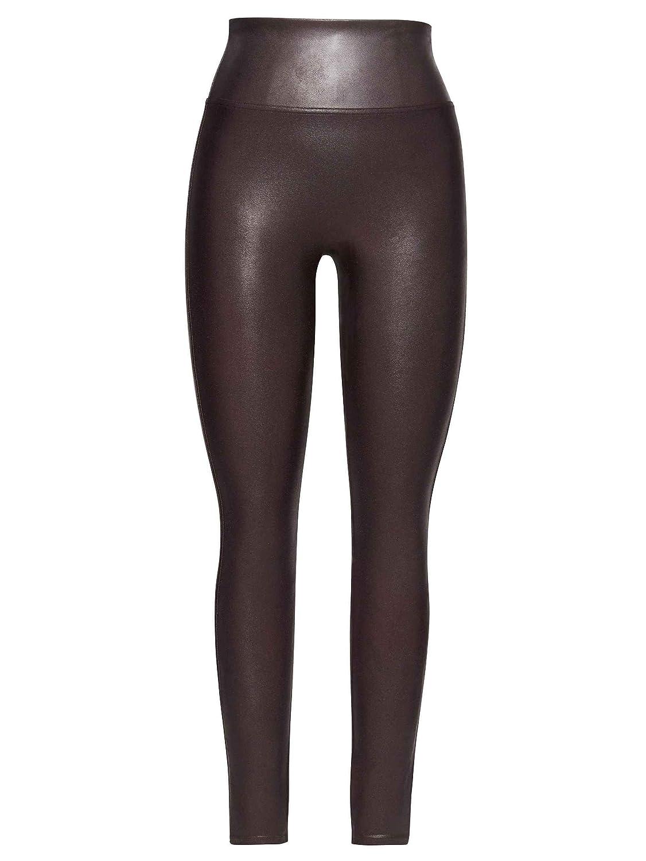 671635776 Spanx Women s Ready to Wow Faux Leather Leggings - Purple -  Amazon.co.uk   Clothing