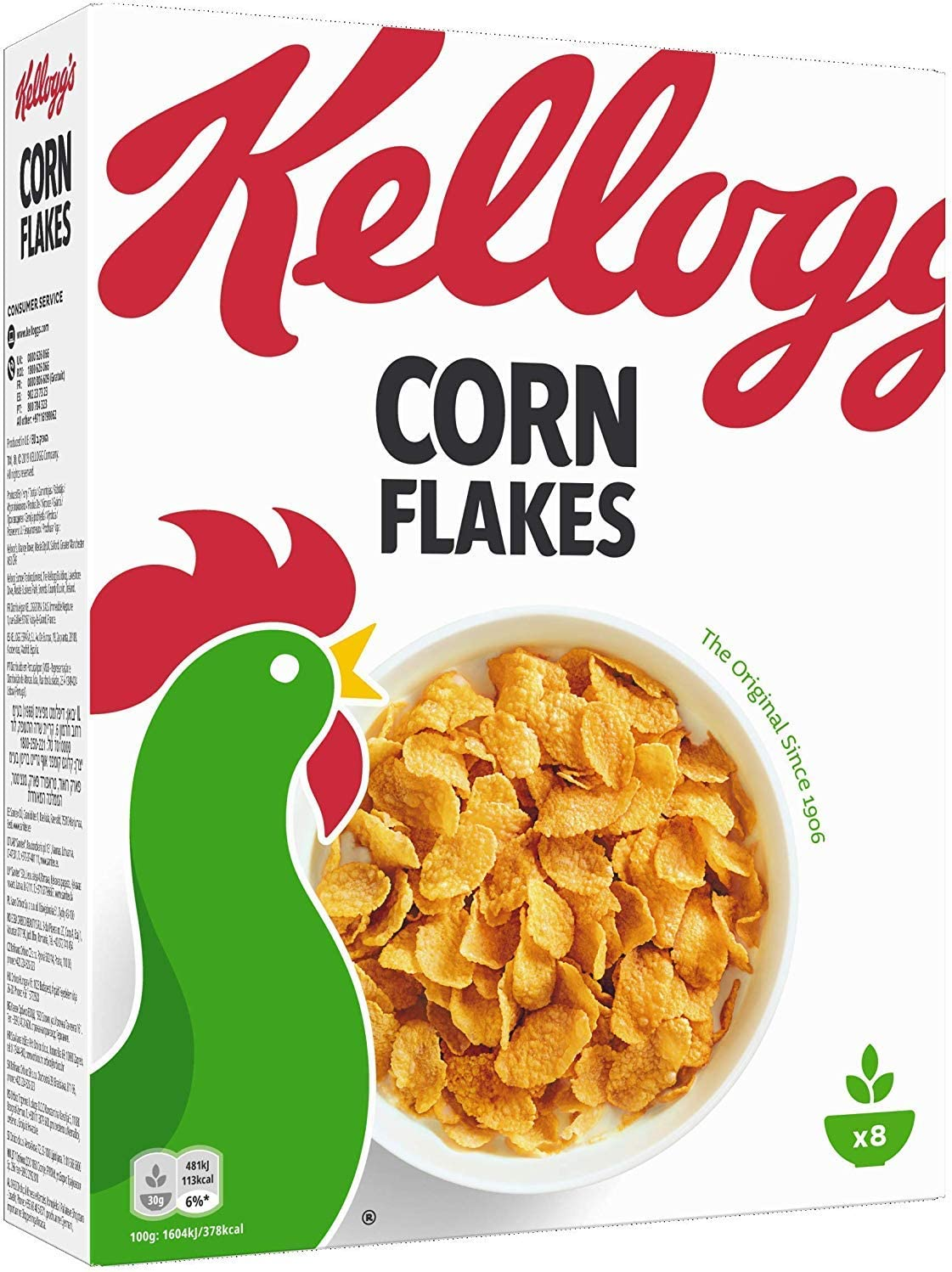 Kelloggs Céréales Original Corn Flakes 250 g: Amazon.es ...
