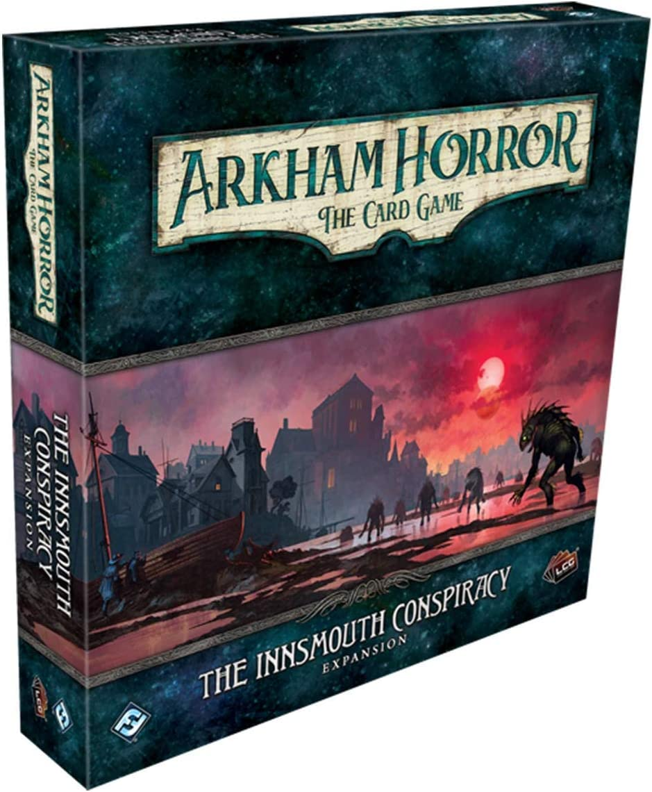 Fantasy Flight Games Arkham Horror LCG: The Innsmouth Conspiracy Deluxe Expansion (AHC52)