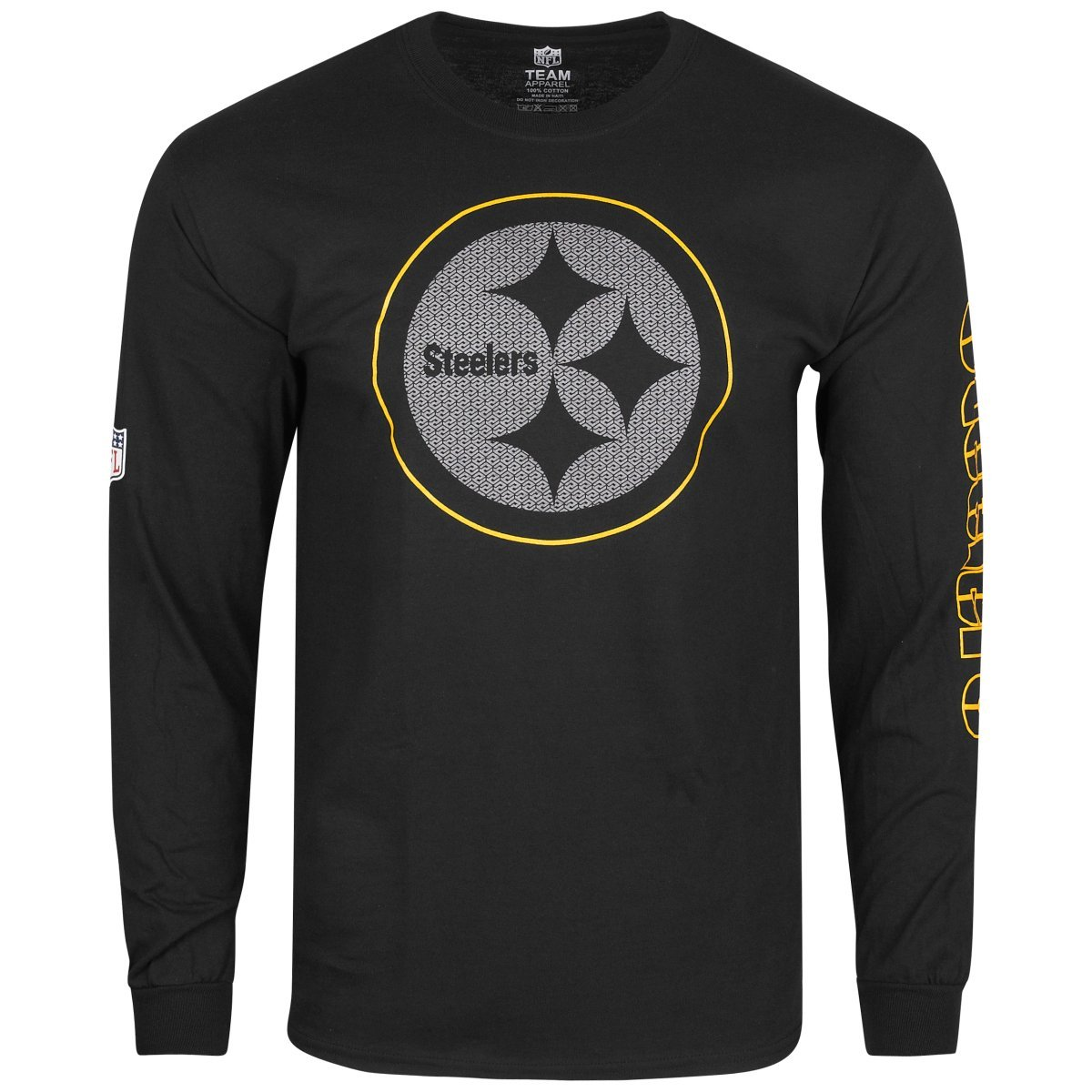 Majestic Athletic NFL Pittsburgh Steelers Joel L//S T-Shirt Top ...
