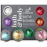 ArtNaturals Large Bath Bombs Gift Set kit – (12 x 4 Oz / 113g) - Handmade - Natural Handmade Essential Oil Spa Bubble…