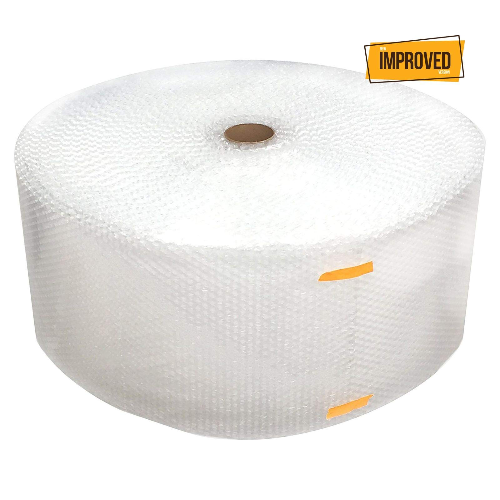 Cell Packaging 700ft x 12'' Small Bubble Cushioning Wrap 3/16, Perforated Every 12'' [New Improved Version] by Cell Packaging