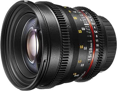 Walimex 20402 Lente de cámara SLR Negro: Walimex Pro: Amazon.es ...