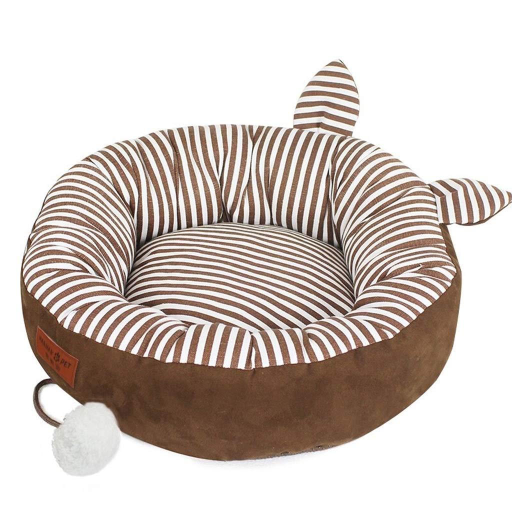 1  60cm45cm14cm 1  60cm45cm14cm DSADDSD Pet Bed Cat Litter Kennel Washable Pet Nest Cat Sleeping Bag Cushion Comfortable And Durable Pet Supplies (color   1 , Size   60cm45cm14cm)