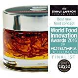 Spanish Saffron: Simply Saffron 75g pot (Pure Premium Grade Spanish Saffron Strands/Threads In A Gel): Finalist World Food Innovation Awards 2016: The finest quality saffron in seconds